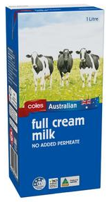 Best long life milk UHT rating review Coles