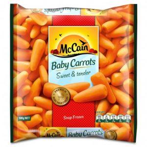 McCain frozen vegetables review