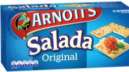 Best crackers rating review Arnotts Salada