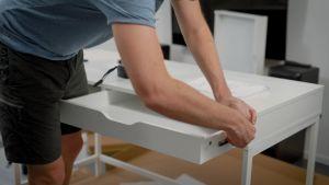 Assembling desk