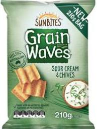 best chips crisps rating review Sunbites Grain Waves