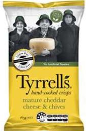 best chips crisps rating review Tyrrels