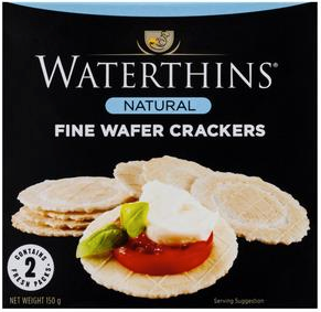 Best crackers rating review Waterthins