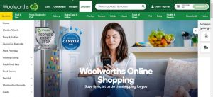 Woolworths supermarket online delivery shopping coronavirus