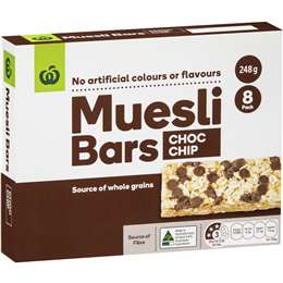 Woolworths muesli bar best rating review