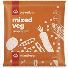 Woolworths Essentials frozen vegetables review