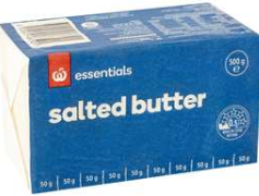 Best butter rating review Woolworths Essentials