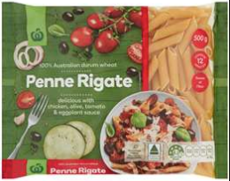 Best dried pasta review rating Woolworths