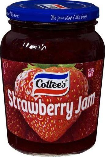 Cottee's strawberry jam