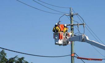 Energy pole repairs