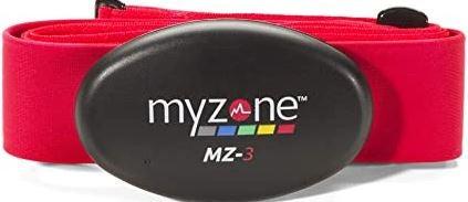MyZone heart monitor