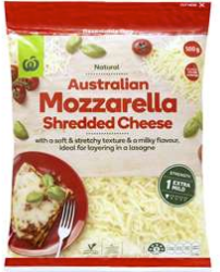 Best mozzarella cheese rating review Woolworths