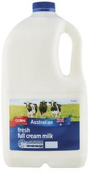 Best fresh milk full cream rating review compared Coles