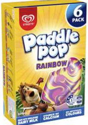 Best ice cream multipacks rating review compared prices Paddle Pop