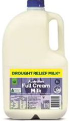 Best fresh milk full cream rating review compared Woolworths Woolies