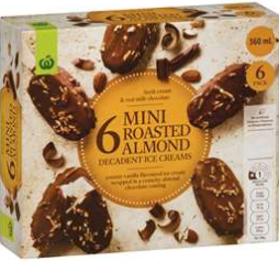 Best ice cream multipacks rating review compared prices Woolworths