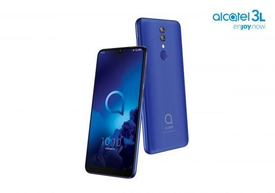 The Alcatel 3L Blue Budget Phone