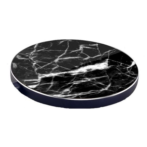 Wireless Charging Mat with a Marble Finish