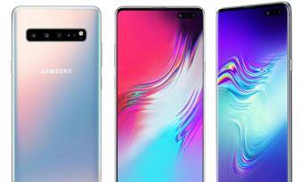 Samsung Galaxy S10 5G phones
