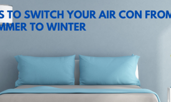use your air con for heating
