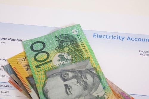 australian bills on power bill