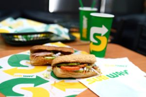 subway sandwich rated best fast food