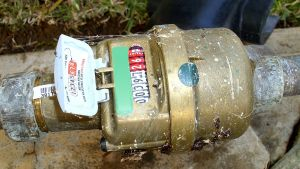 Water meter at home