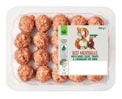 Woolworths affordable quick and easy meals meatballs