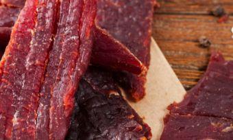 ALDI Special Buys vegan beef jerky