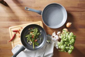 ALDI stainless steel frying pan