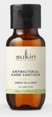 Sukin antibacterial hand sanitiser