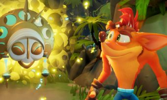 Still of Crash Bandicoot in Crash Bandicoot 4 It's About Time video game