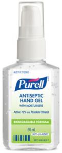 Purell antiseptic hand gel hand sanitiser