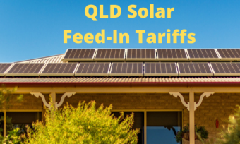 House with solar panels and QLD solar feed-in tariffs