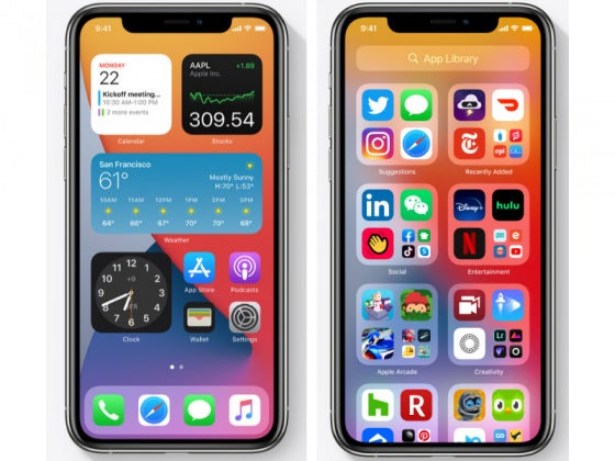 Two iPhone 11's