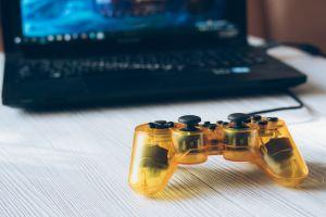 Gaming on laptop