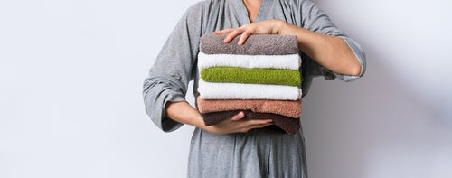 holding-stack-towel