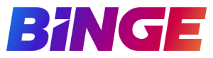 BINGE streaming service logo