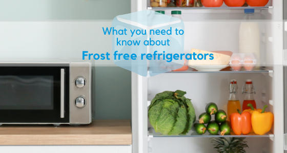Frost free fridges and freezers