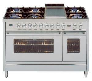 ILVE freestanding quadra cooker oven