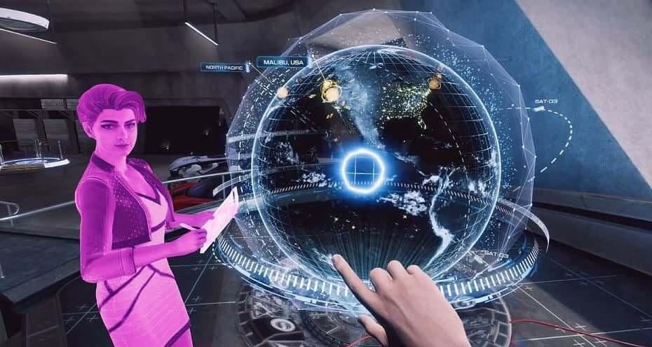 Iron Man VR map