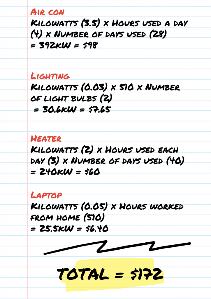 calculate energy tax