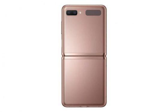 A bronze phone