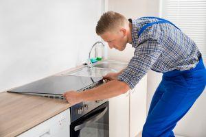 Installing cooktop