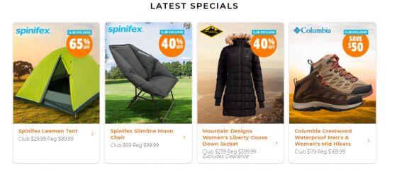 Anaconda Click Frenzy Sports deals