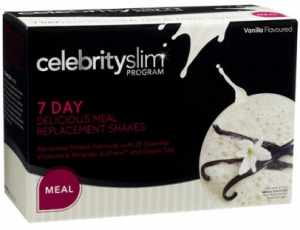 Celebrity Slim diet and meal replacement shakes