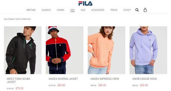 FILA Click Frenzy Sports deals