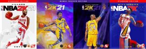 NBA 2K21 Covers