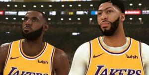 NBA 2K21 Lakers