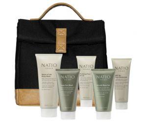 Natio Men's Skincare gift set
